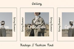 Hadeya - Modern Script Typeface Product Image 4