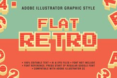 5 Retro Text Effect Graphic Styles Vector Product Image 2