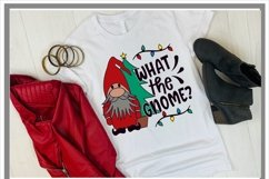 What The Gnome Christmas SVG Product Image 2