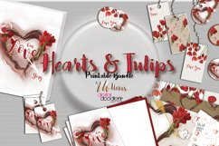 Hand Painted Hearts & Tulips Bundle Product Image 5