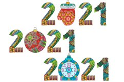 Decorative numbers 2021 Product Image 2
