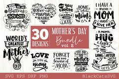 Mother's Day SVG bundle 30 designs Mother's Day SVG vol 2 Product Image 2