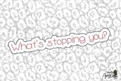 Sloth Life - A Slim Sans Serif Font Product Image 6