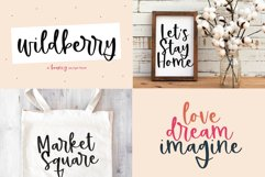 Spring Font Bundle - Fonts for Crafters Product Image 6