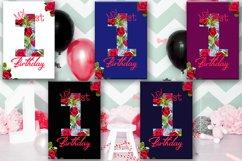 Birthday Card, Happy First Birthday,Cute 1st Birthday, SALE Product Image 1