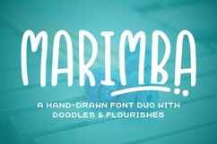 Marimba Font Duo Product Image 1