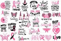 Breast Cancer SVG Bundle Product Image 1