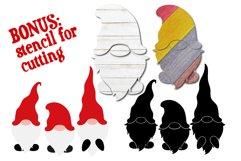 Christmas Gnome SVG, Build your Gnome, Christmas Bundle SVG Product Image 6