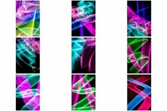 110 Photographs of Abstract Neon Swirls and Lines Product Image 3