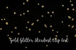 Gold Glitter Stardust, Transparent PNG Product Image 3