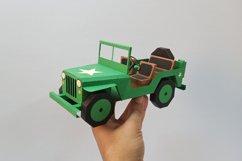 DIY Car - 3d papercraft Product Image 1