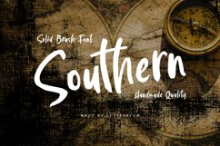 Southern | Solid Brush Font Product Image 1