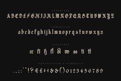 Candelabra Blackletter Font Product Image 2