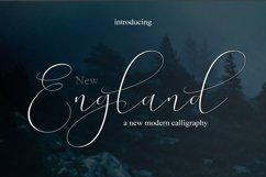 NEW England Script Product Image 2