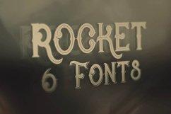Rocket- Vintage Style Font Product Image 2