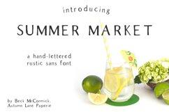Summer Market Rustic Sans Font Product Image 1