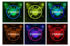 Corona Virus Strike Album Cover Template Product Image 2