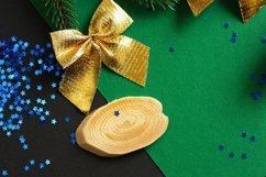 Festive Christmas And New Year Backgrounds Product Image 6