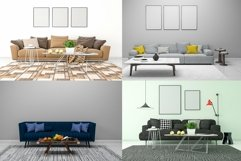 10 Images 3D Interior Room Mockup Bundle Vol 4 Product Image 2