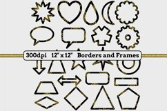 6 Sets x 22 Borders/Frames - Hearts and Tartans and a Floral Product Image 5
