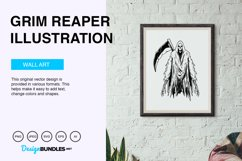 Grim Reaper Vector Illustration Product Image 5