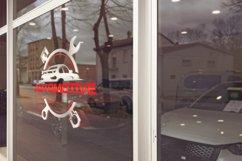 Car Glass Logo Mockup Product Image 2