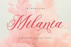 Milania Script Product Image 1