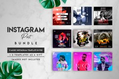 9 music instagram posts Product Image 1