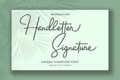 Handletter Signature Product Image 1