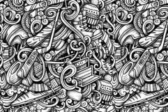 Winter Sports Graphics Doodle Patterns Product Image 3