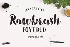 Rawbrush Font Duo Product Image 1