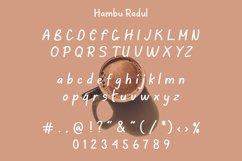 Hambu Radul - Modern Handmade Font Product Image 5