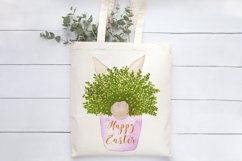 Happy Easter Bunny Pot Print | Easter Design Product Image 3