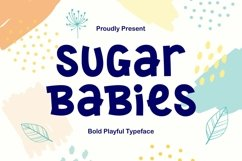 Sugar Babies - Playful Sans Serif Display Product Image 1