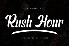Rush Hour - Modern Sans Product Image 1