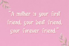 We Love Mom - Playful Font Product Image 8