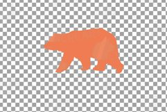Baby and mama bear nursery clip art collection, bears print Product Image 8