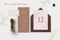 Minimal Sketch Floral Invitation Suite Product Image 4