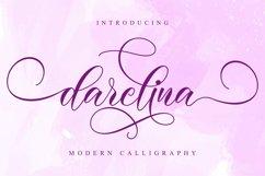 Darelina Script Product Image 1