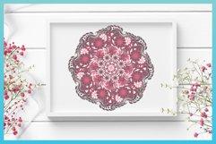 3D SVG Layered Design | Flower Mandala SVG file Product Image 2