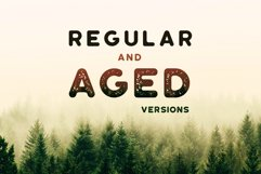 Roundhouse - Rounded Vintage Typeface Product Image 3