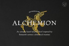 Alchemion Display Serif Font Product Image 1