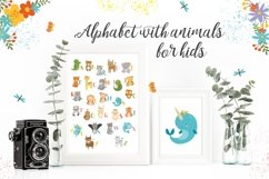 Alphabet animals. Kids alphabet. Baby animals. Letters png Product Image 2