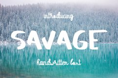 SAVAGE duo script font Product Image 1
