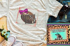 Football Sister Sublimation Download Product Image 1