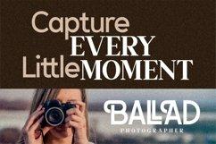 BALLAD - Stylish Sans Serif Font Product Image 9
