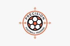 Football logo design premium Product Image 1