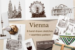 Set of Vienna sketches Product Image 1