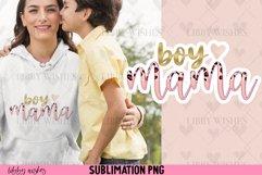 Sublimation Boy Mama mom leopard boho Product Image 2