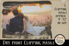 Dry Paint Photoshop Clipping Masks & Tutorial Product Image 3